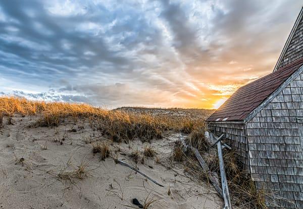 Cape Cod Dune Sunset Art | Michael Blanchard Inspirational Photography - Crossroads Gallery