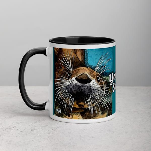Sea Otter Coffee Mug | Water+Ink Studios