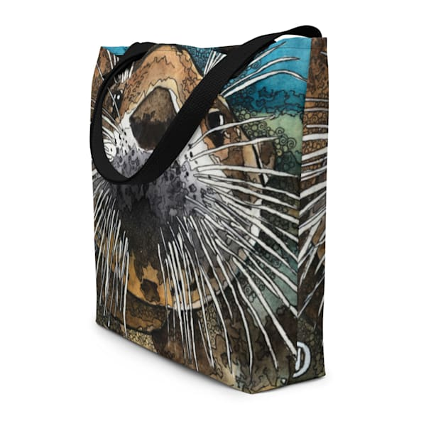 Sea Otter Beach Bag | Water+Ink Studios