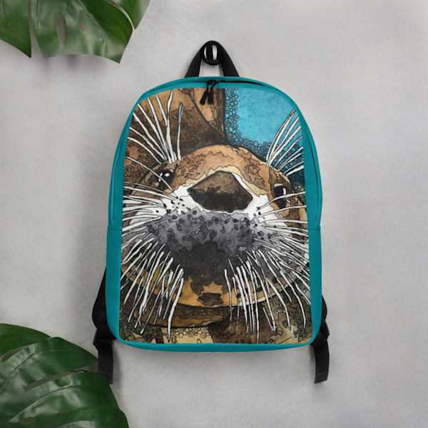 Sea Otter Backpack | Water+Ink Studios