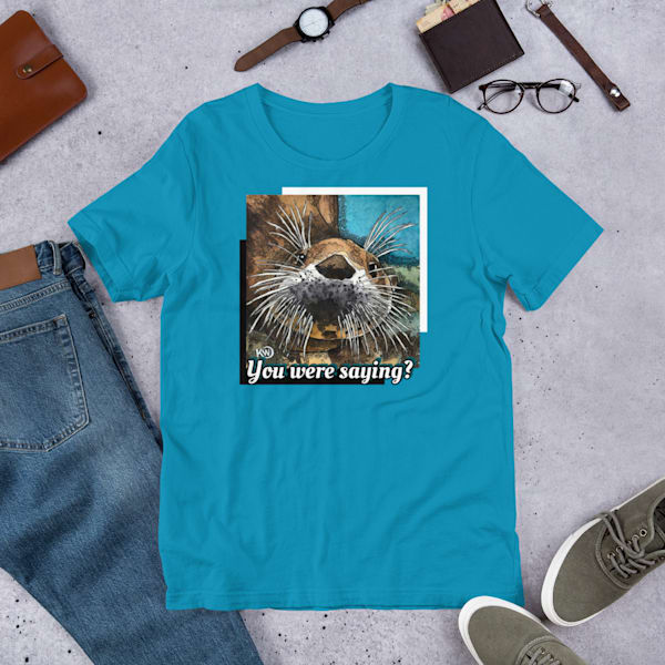 Sea Otter Unisex T Shirt | Water+Ink Studios