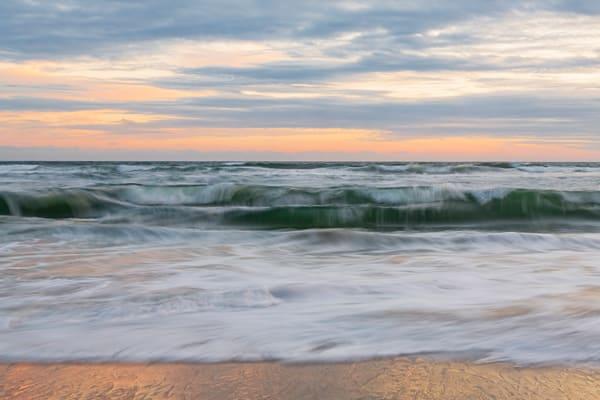Coastal Textures Landscape Photograph