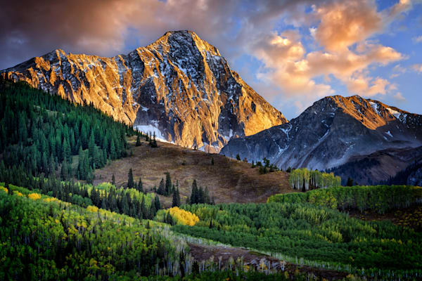 Capitol Peak at Dusk | Shop Photography by Rick Berk
