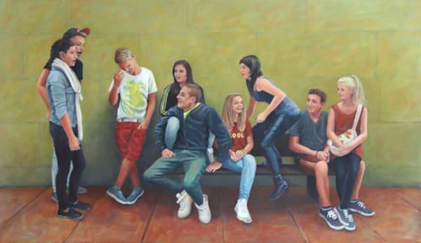 The Joke  Art   Lidfors Art Studio