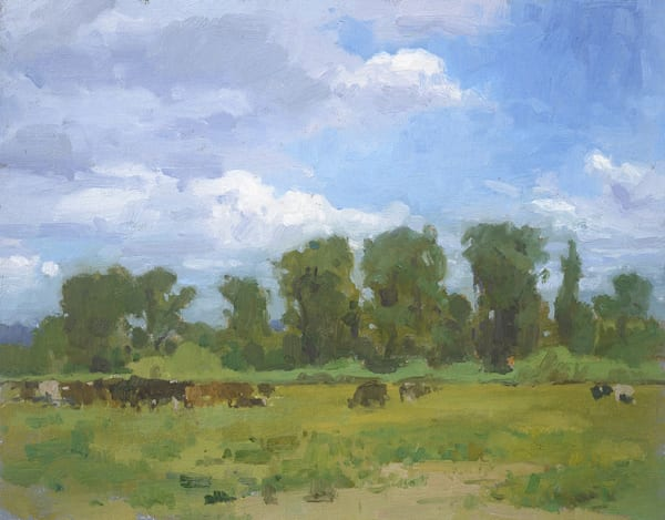 Cows In A Field Near Duvall Art | Fountainhead Gallery