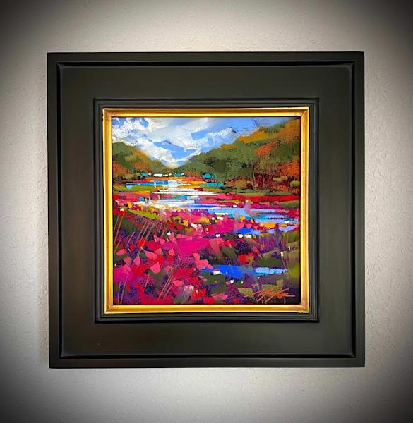Magenta Marsh #2 Art   Michael Mckee Gallery Inc.