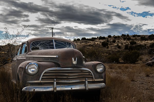 Abandoned Car Photography Art   Spry Gallery