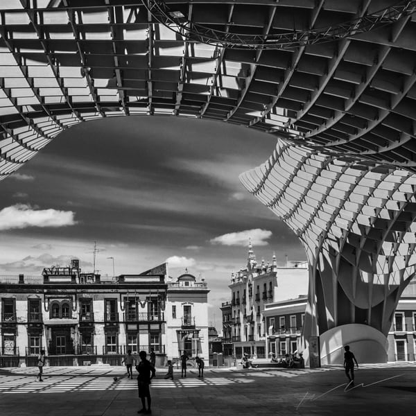 Under The Awning Photography Art | Harry John Kerker Photo Artist