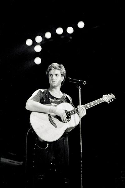 Simon LeBon of Duran Duran, Wembley Arena
