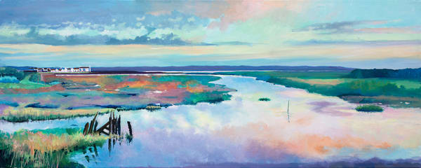 Coastal Marshes Art Print