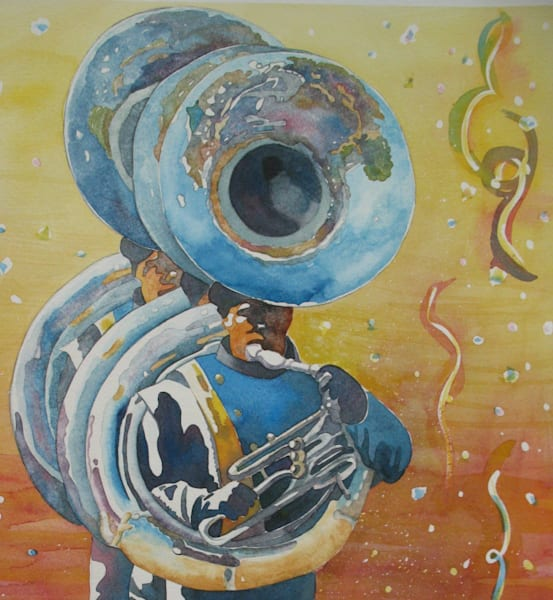 Marching Tubas 2 Art | Michele Tabor Kimbrough