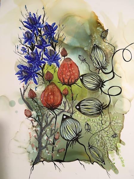 Alice's Thistle Art | Art With Judy Ann