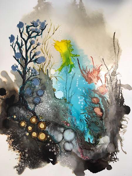 Mysterious Sea Art   Art With Judy Ann
