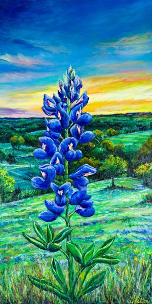 Bluebonnet Hill Art | Channe Felton Fine Art