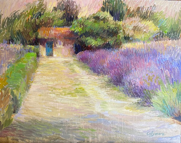 Lavender Garden In Provence Art | Fountainhead Gallery