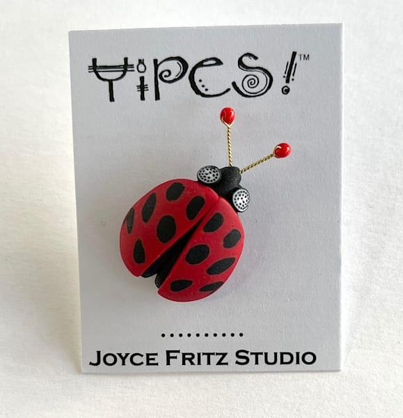 Ladybug Tack Pin | smalljoysstudio