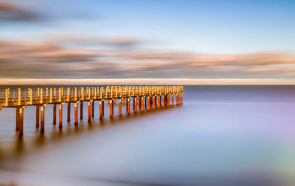 Fishing Pier Day Time Long Exposure Art | Michael Blanchard Inspirational Photography - Crossroads Gallery