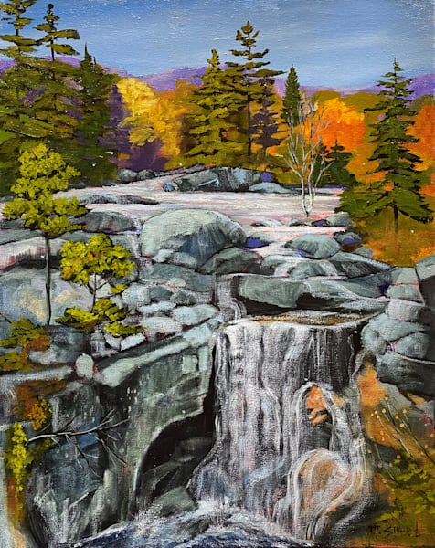 Waterfall (Print) Art   Marissa Sweet