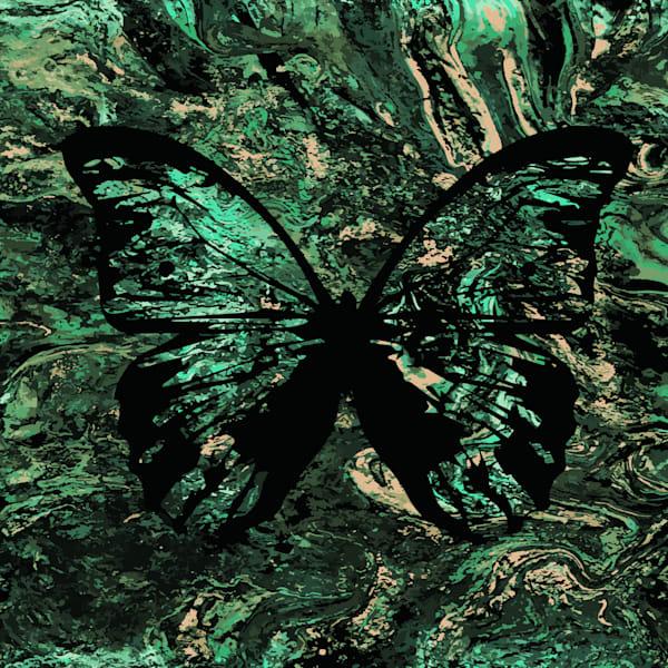 Green Butterfly Art | KD Neeley, Artist