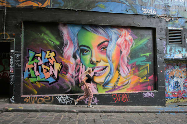 Graffiti Alley, Melbourne | Julie Williams Fine Art Photography