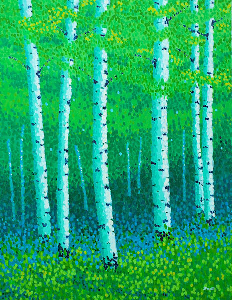 Summer In The Woods Art | Jim Pescott Art