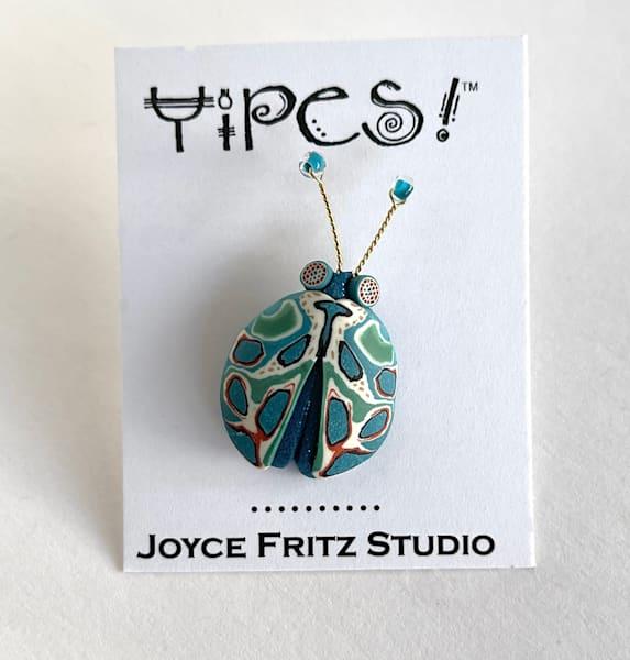 Turquoise Bug Tack Pin | smalljoysstudio