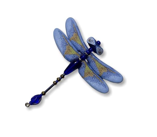 Periwinkle Blue Dragonfly Pin | smalljoysstudio
