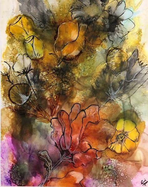 Scribble Flowers Art | Art With Judy Ann