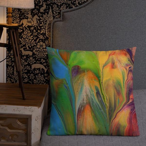 Bouquet Pillow | KD Neeley, Artist