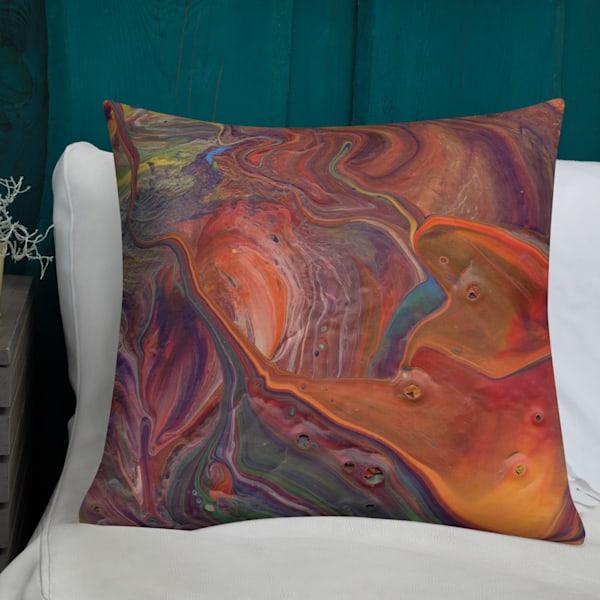 Down The Rabbit Hole Pillow | KD Neeley, Artist