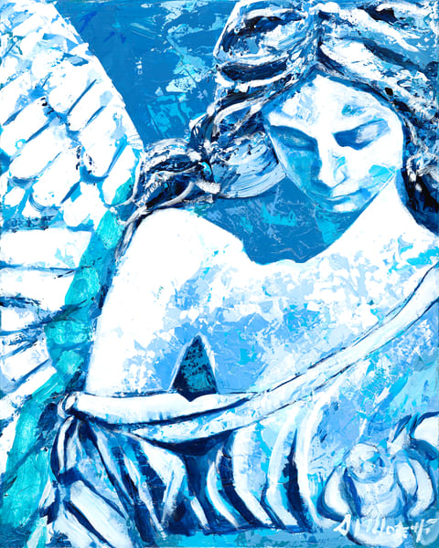 Angel with head Bowed Al Moretti