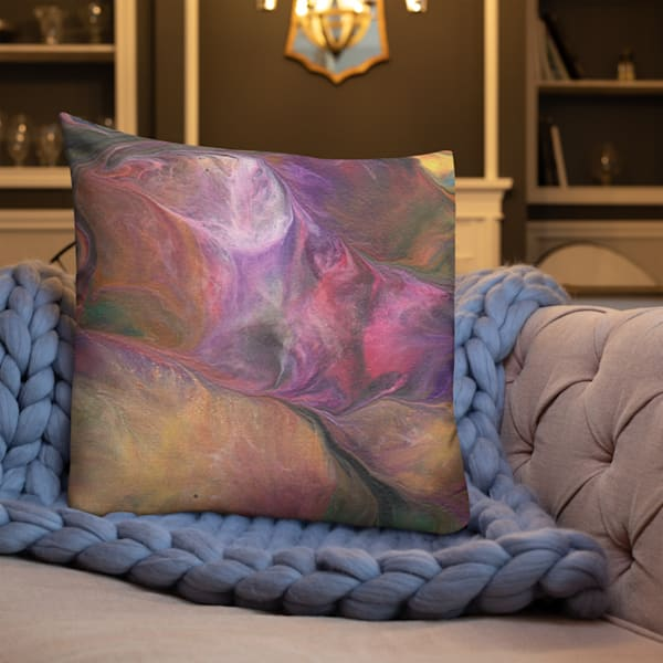 Pastel Garden Pillow | KD Neeley, Artist