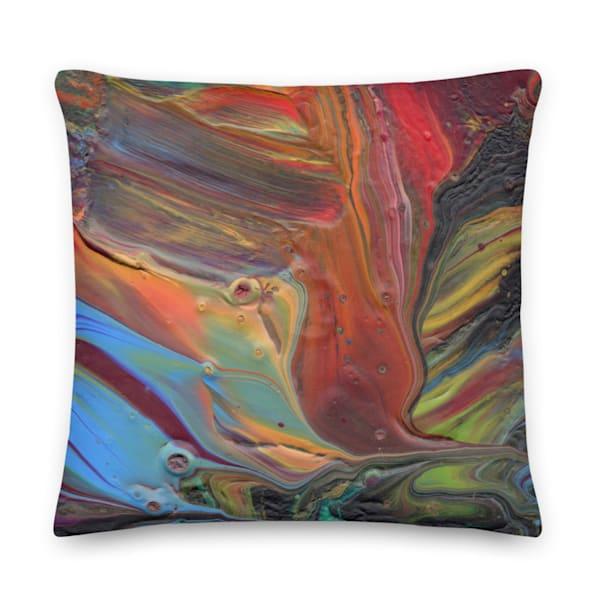 Paw Print Pillow | KD Neeley, Artist