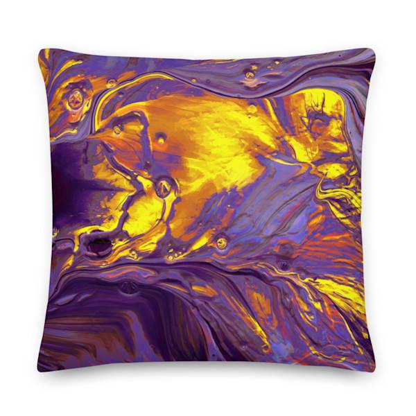 Sunspot Pillow | KD Neeley, Artist