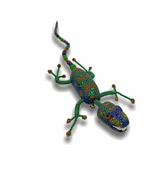 Green Lizard Pin | smalljoysstudio