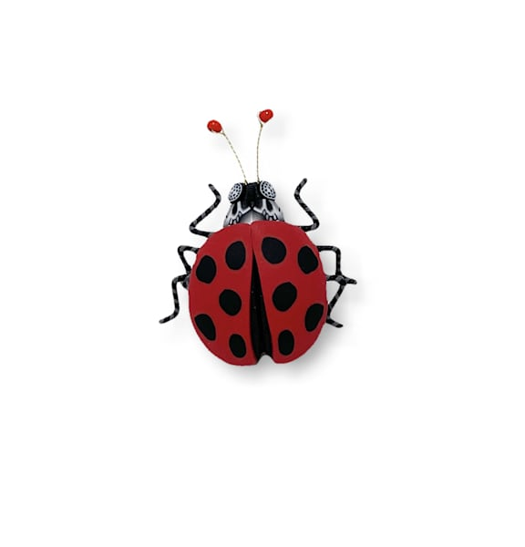Large Ladybug Pin | smalljoysstudio