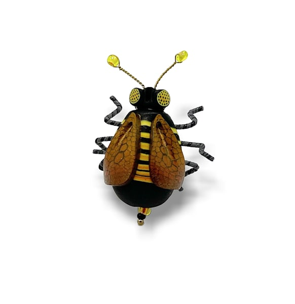 Honey Bee Bug Pin | smalljoysstudio