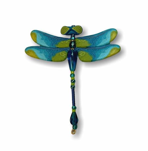 Turquoise Dragonfly Pin | smalljoysstudio