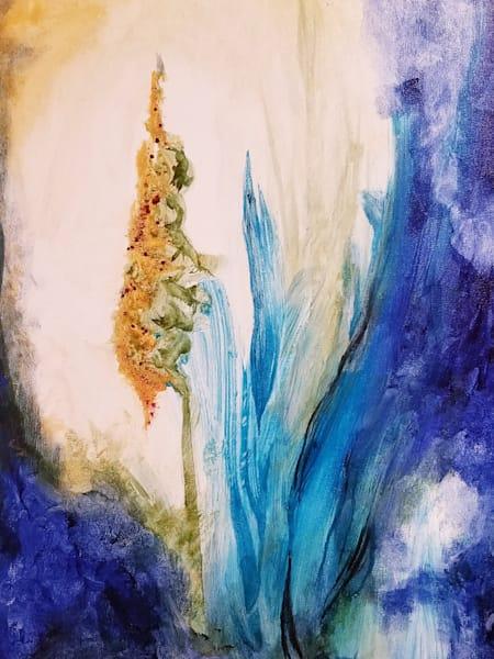Velvet Plant Art   Dena McKitrick