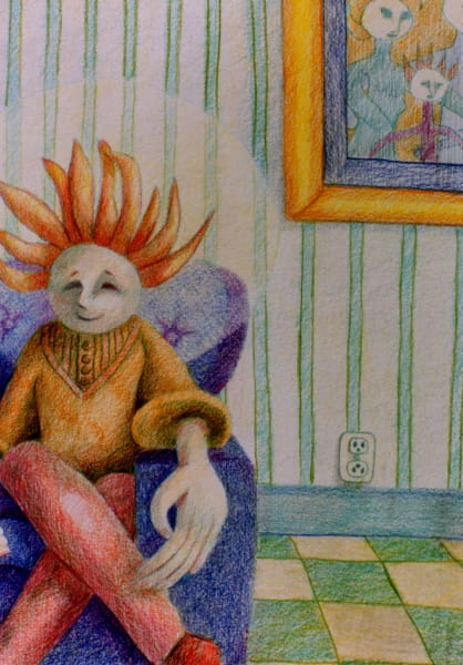 Scared Family Art | Dena McKitrick