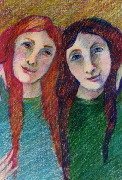 Sisters Art   Dena McKitrick