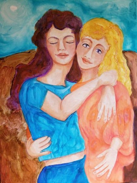 Sisters Blessing Art   Dena McKitrick