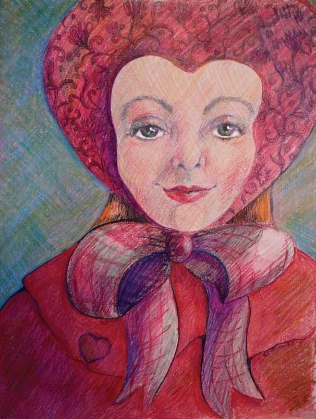 Valentine Hat Art   Dena McKitrick