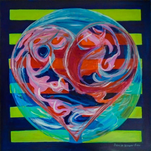 Hexagram 2: Love is a Planetary Forc