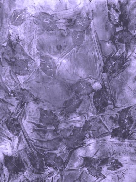 Grace: Royal Violet Art | Courtney Miller Bellairs Artist