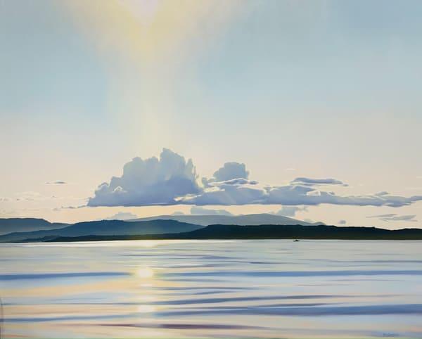 Haro Strait Sunset Art | Friday Harbor Atelier