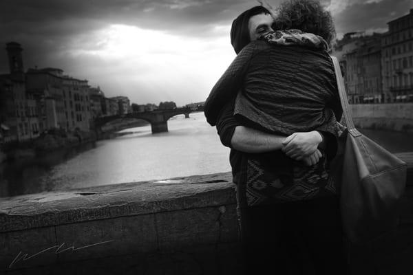 Love On The Arno Photography Art | Harry John Kerker Photo Artist