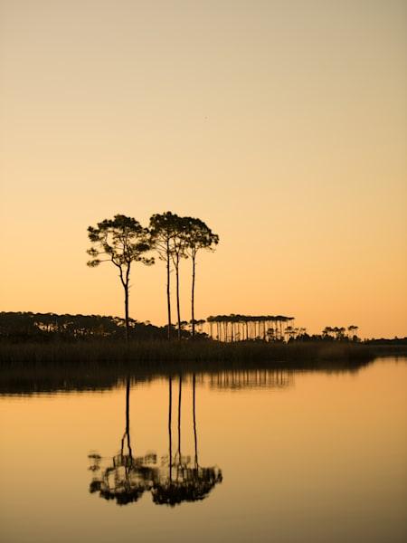 Western Lake Orange Sunset Art | Modus Photography