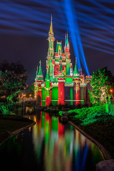 Christmas Scene 4 From Tomorrowland At Night Photography Art | William Drew Photography