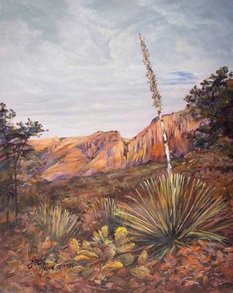 Lindy Cook Severns Art | Taking the High Ground, print